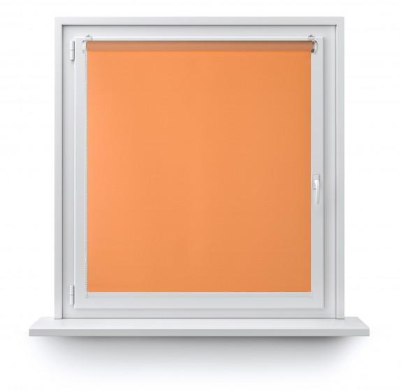 Roleta Mini gładka pomarańcz 508