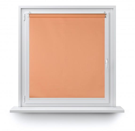 Roleta Mini Zaciemniająca oranż 060