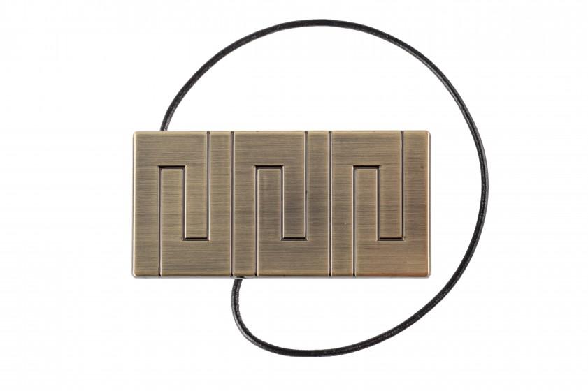 Das dekorative Klipp - Rechteck ANTYK MOSIĄDZ