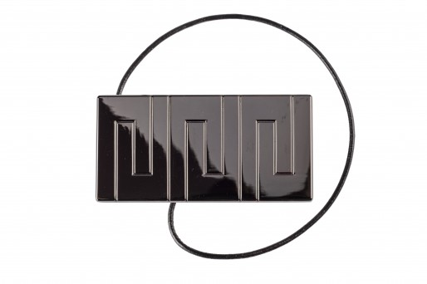 Decorative clip Rectangle ONYKS