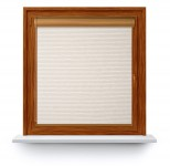 Roller blind in PVC cassette Borneo beżowy 102