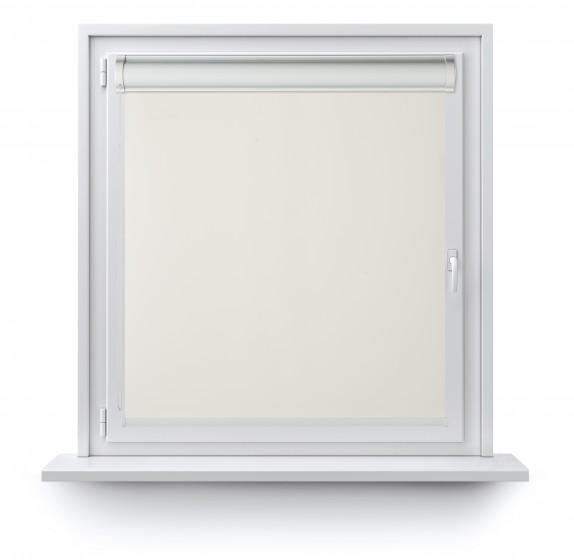 Rollo in PVC-Kassetten krem 501
