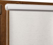 Blackout Roller blind in PVC cassette topola 063