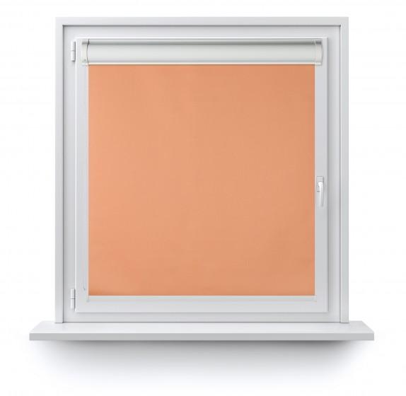 Rollo in PVC-Kassetten Verdunkelung oranż 060