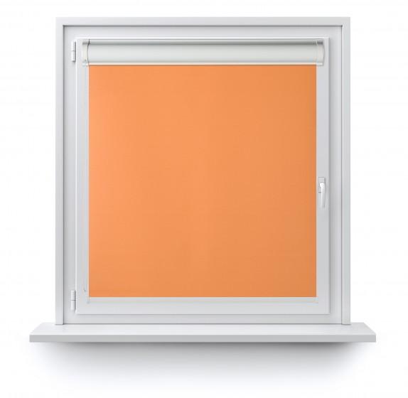 Roleta w Kasecie z prowadnicą gładka pomarańcz 508