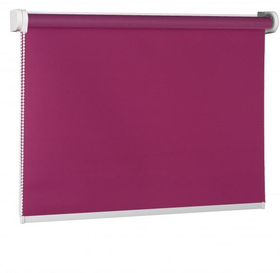 Freihängende Rollo purpura 522