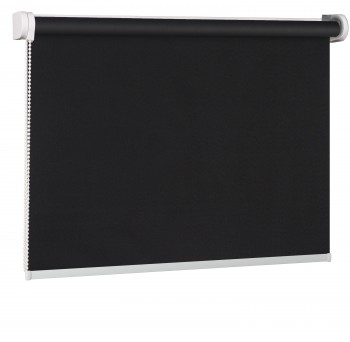 Blackout Wall mounted blind czerń 069