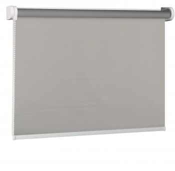 Blackout Wall mounted blind popiel 054