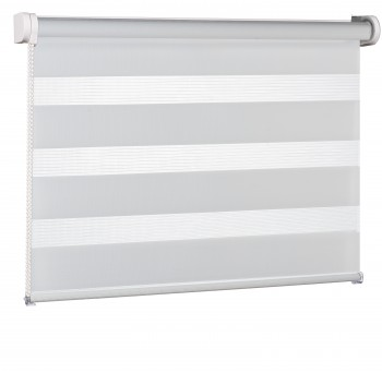 Wall mounted blind Day-Night Classic Porcelanowy 01