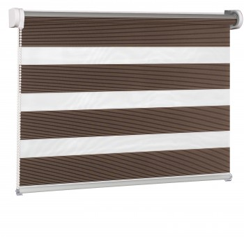 Wall mounted blind Day-Night Classic Trufla Paseczki BH2305