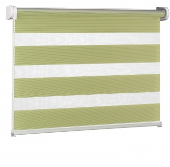 Wall mounted blind Day-Night Exclusive Oliwka Paseczki BH2306
