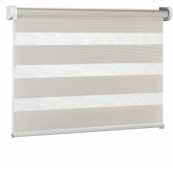 Wall mounted blind Day-Night Exclusive Biel Paseczki BH2301