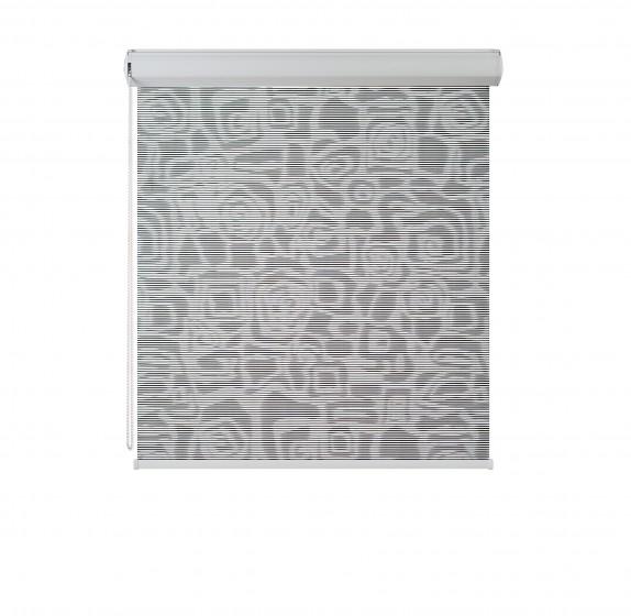 Cassette Superior Borneo roller blind czerń 107