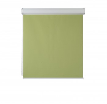 Cassette Superior Blackout roller blind oliwka 205