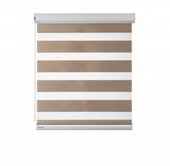 Cassette Superior roller blind Day-Night Classic Latte 02