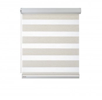 Cassette Superior roller blind Day-Night Classic Kokos 08