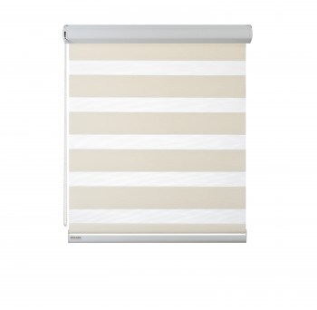 Cassette Superior roller blind Day-Night Exclusive Perłowy BH1508