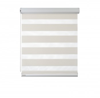 Cassette Superior roller blind Day-Night Exclusive Biel Paseczki BH2301