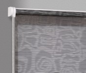 Wall mounted blind Borneo czerń 107