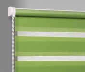 Wall mounted blind Day-Night Classic Kiwi AG312