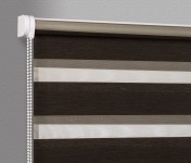 Wall mounted blind Day-Night Exclusive Heban Drewnopodobny BH1506