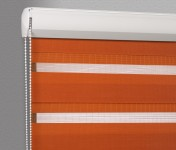 Cassette Superior roller blind Day-Night Classic Pomarańcza 1213