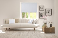 Blackout Roller blind in PVC casette biel 51