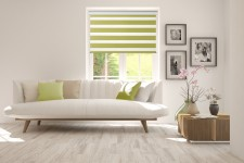 Roller blind in PVC cassette Day-Night Classic Pamelo 1206