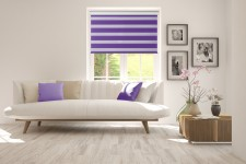 Roller blind in PVC casette Day-Night Classic Wrzos 608