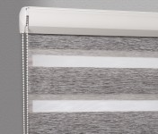 Cassette Superior roller blind Day-Night Exclusive Czarny Drewnopodobny BH1501