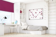 Wall mounted blind purpura 522