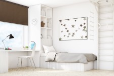 Blackout Wall mounted blind anyż 216
