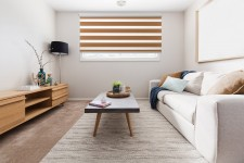 Cassette Superior roller blind Day-Night Classic Toffi 1210