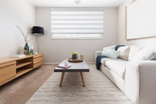 Cassette Superior roller blind Day-Night Classic Porcelanowy 01