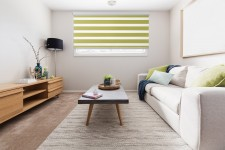 Cassette Superior roller blind Day-Night Classic Pamelo 1206