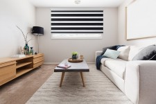Cassette Superior roller blind Day-Night Classic Czerń 07