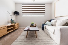 Cassette Superior roller blind Day-Night Exclusive Trufla Paseczki BH2305