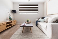 Cassette Superior roller blind Day-Night Exclusive Heban Drewnopodobny BH1506
