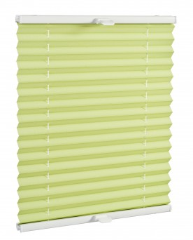 Basic premium pleated blind kiwi