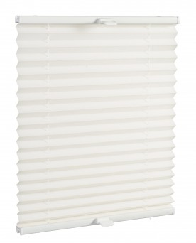 Basic premium pleated blind śnieżnobiały